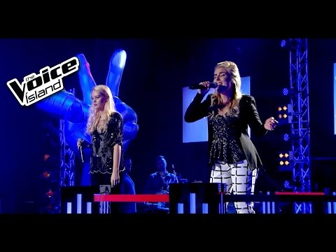 Elín Harpa vs. Kristín Inga - Diamonds | The Voice Iceland 2015 | Battle