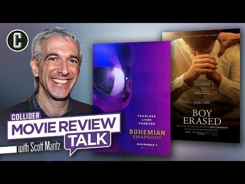 Bohemian Rhapsody and Boy Erased - Movie Review Talk with Scott Mantz