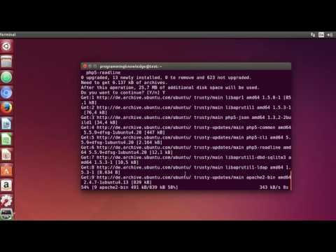 Linux Command Line Tutorial For Beginners 34   apt get command to Install Software