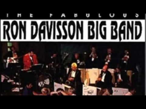 RON DAVISSON BIG BAND with Frank Romano 'Lady is a Tramp'