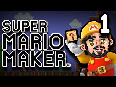 Super Mario Maker - 1 - ANXIETY