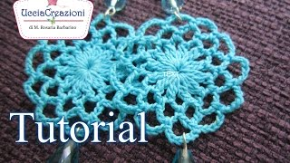 TUTORIAL 12 . Orecchini Tondi all
