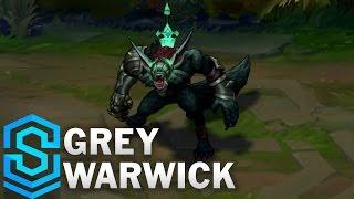 Grey Warwick (2017) Skin Spotlight - League of Legends