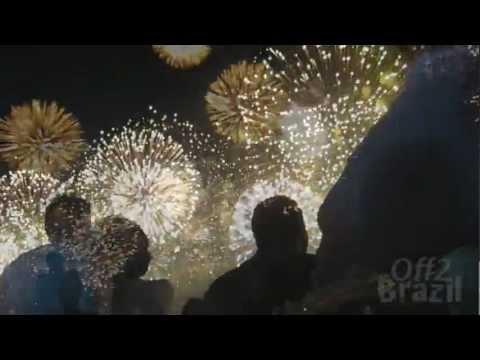 New Year's Eve Rio de Janeiro - Amazing Beach Fireworks!