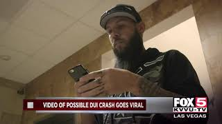 Video of possible DUI crash on I-15 goes viral