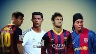 C Ronaldo  ● Messi ● Neymar● Ronaldinho~Craziest Skills & Magic Skills Ever HD
