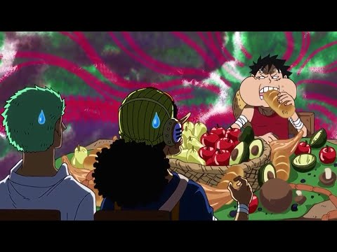 One piece luffy funny moments