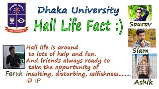 Bangla Funny video | Five things must be faced in university hall life