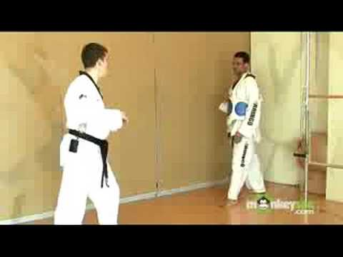 Olympic Taekwondo Sparring Tips and Techniques Image 1