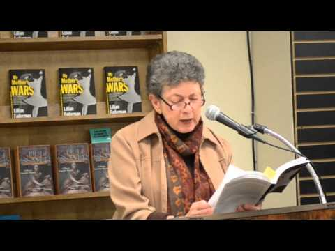 Lillian Faderman (My Mother's Wars): Her mother's attempts to rescue her family from the Holocaust