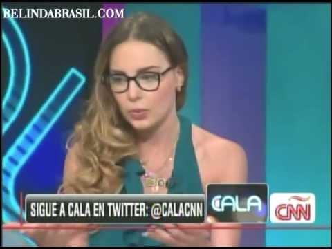 Belinda - Entrevista Programa CALA - CNN (COMPLETO)