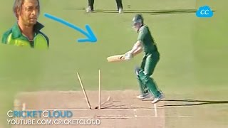 WHY Haddin Played this Shot VS Shoaib Akhtar?? Plz comment your thoughts !!