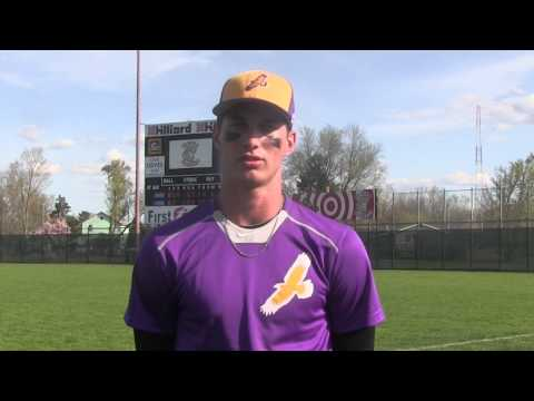 Elmira College Baseball Post Game Interview With Conor Bawiec '18