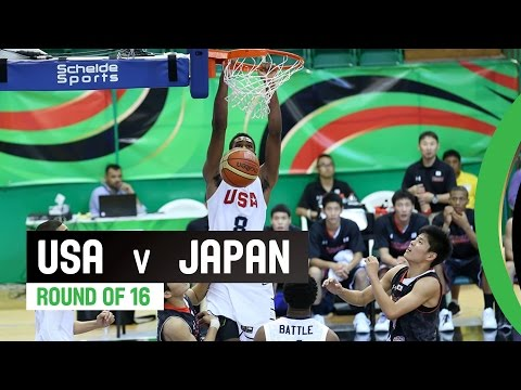 USA v Japan - Round of 16 Full Game - 2014 FIBA U17 World Championship