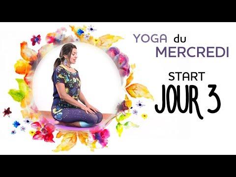 START - Jour 3 - Yoga du MERCREDI - DEBUTER le YOGA en 7 jours en toute simplicité
