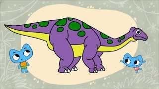 Котики, вперед! - Раскраска - Динозавры и другие древние существа