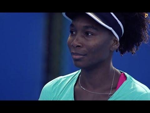 Venus Williams: Training Day - Australian Open 2015