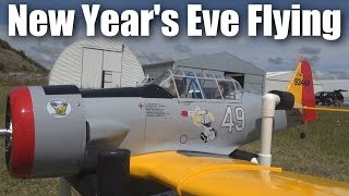 Last day of fun and RC planes for 2016