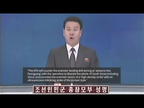 NKorea warns of pre-emptive strikes vs South