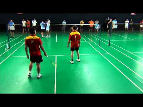 FlexPro Modesliga 2013 (Zone Kepong) Match Day 1 (SB Sports Badminton Team VS M.E.E.T)