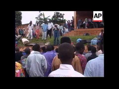 RWANDA: 400 CHILD SOLDIERS RETURN HOME
