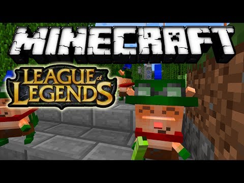 Minecraft 1.6.4 - Review de League of Legends!!! MOD - ESPAÑOL TUTORIAL