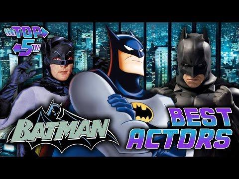 Top 5 Best Batman Actors