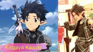 Sword Art Online Characters In Real Life