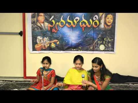 Aditi, Divya, Rakshita - Giriraja Suta Tanaya video