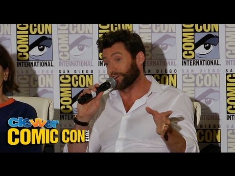 The Wolverine Press Conference 2013 Comic-Con: Hugh Jackman, James Mangold