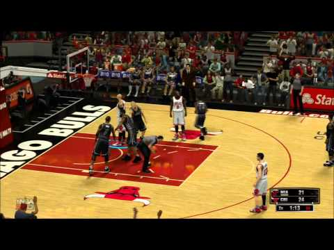 [NBA 2K13 - Gameplay] Miami Heat vs. Chicago Bulls