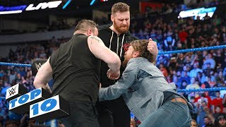 Top 10 SmackDown LIVE moments: WWE Top 10, March 20, 2018