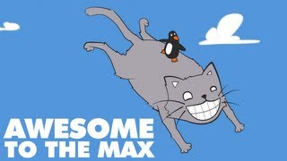 [Dubstep] Awesome To The Max - Ephixa - Cat surfing animation