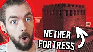 I Finally Found A Nether FORTRESS In Minecraft