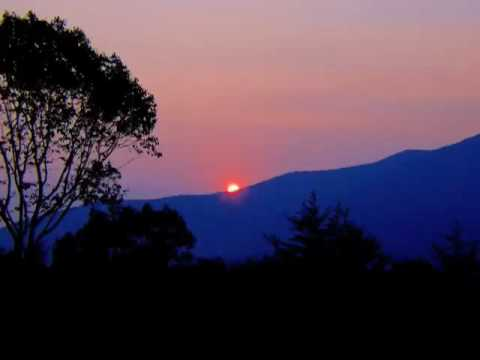 Sunset - Moon Rise (Original Song on Native American Flute)