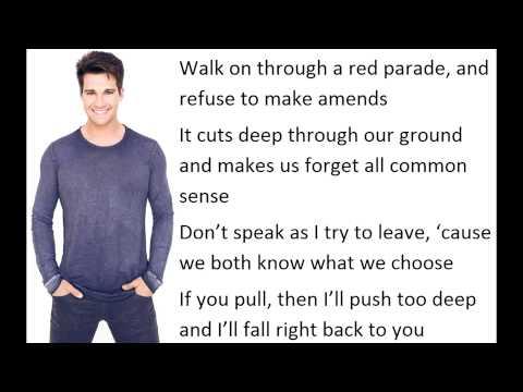 Clarity - James Maslow, Cover (Lyrics)