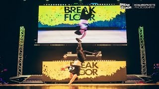 Bboy Pocket pokaz na Break The Floor 2017
