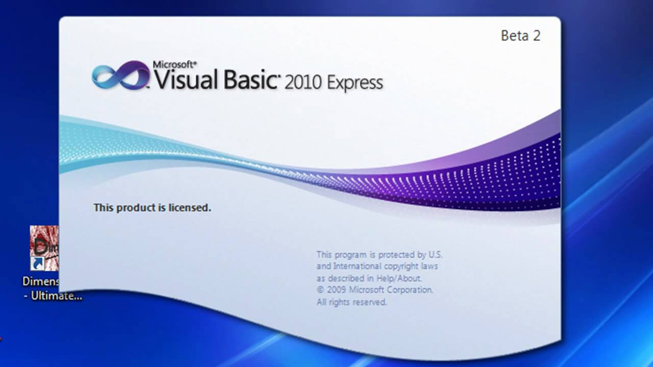 Visual Basic 2010 Beginner Tutorial