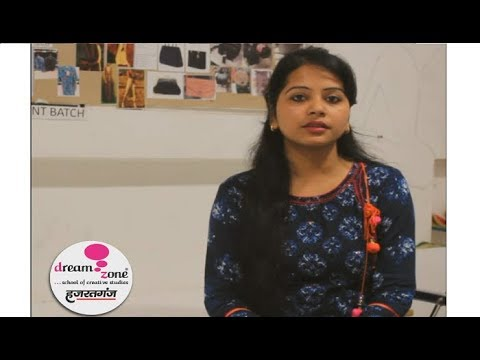 Student's Training Experience for Fashion Designing at Dream Zone Hazratganj