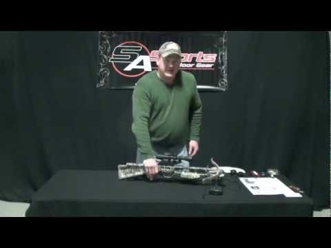SA Sports Fever Crossbow Assembly Instructions