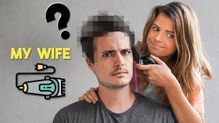 My Wife Cuts My Hair! (She Convinced Me)