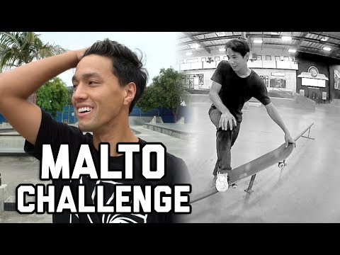 SEAN MALTO DREAM TRICK CHALLENGE!!