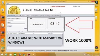 Auto Claim (BTC, LTC, ETH, DogeCoin, etc) More Than 30 Website With MaisBot (Update 26/6/18) 17.48 MB