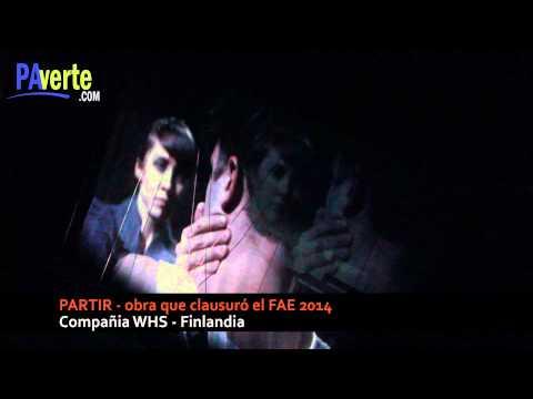 Partir de la Compañia WHS - Finlandia, clausuró el FAE 2014