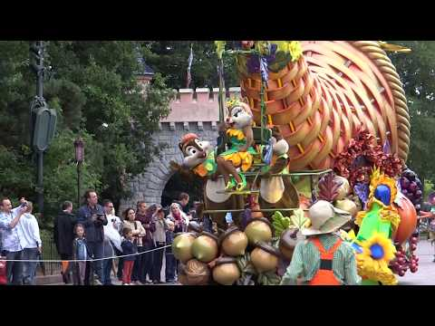 Mickey's Halloween Celebration at Disneyland Paris Halloween 2013