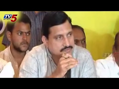 Sujana Chowdary Talks to Media at Vijayawada : TV5 News