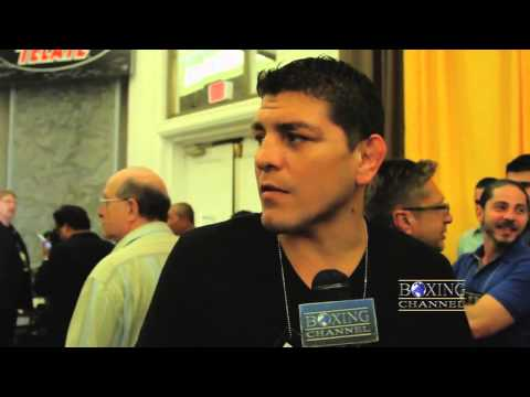 Nick Diaz on Pacquiaos win Johny Hendricks Roy Jones Jr  wanting his UFC contract sold