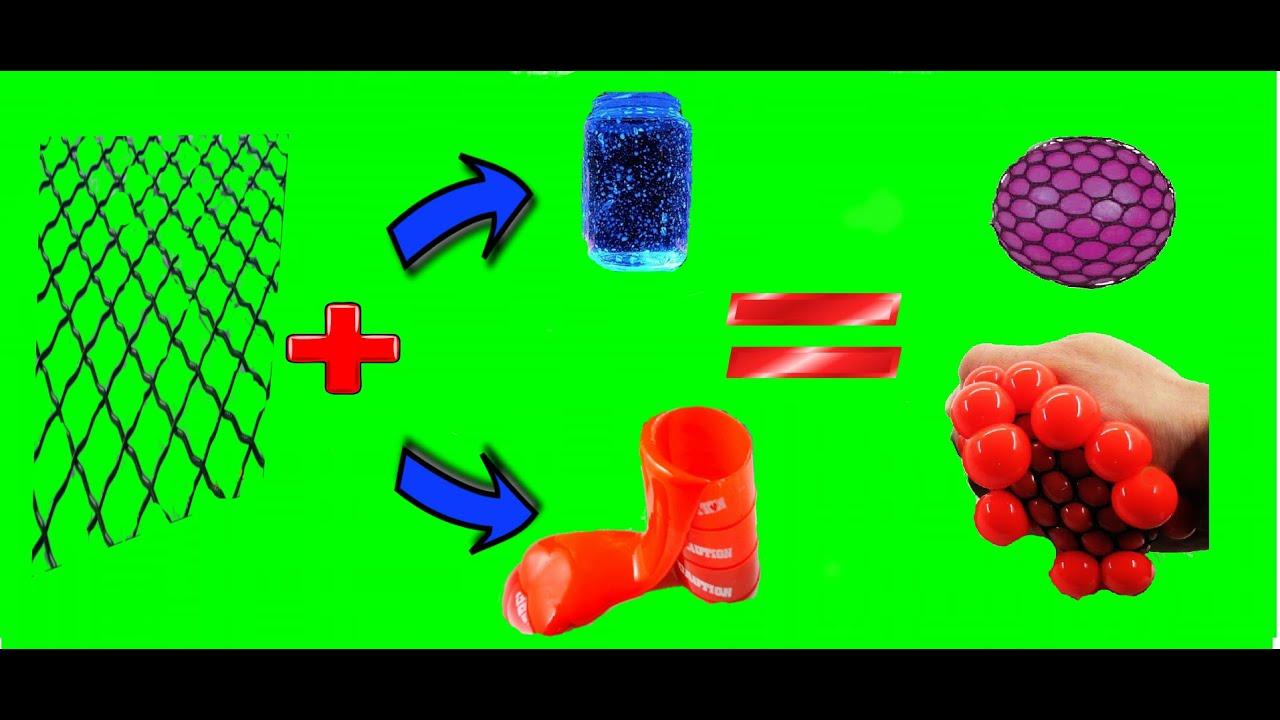 Как сделать антистресс лизун в сетке