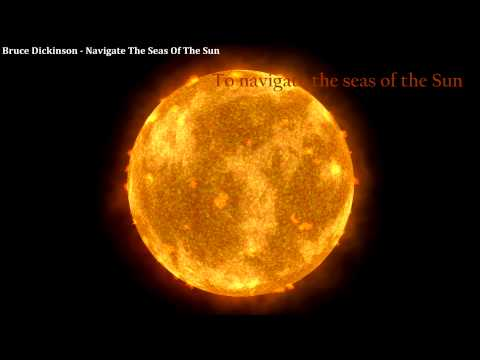 Bruce Dickinson - Navigate The Seas Of The Sun Lyrics ...