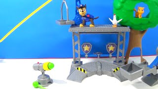 PAW PATROL Unboxing Rescue Training Center! NEW Chickaletta
